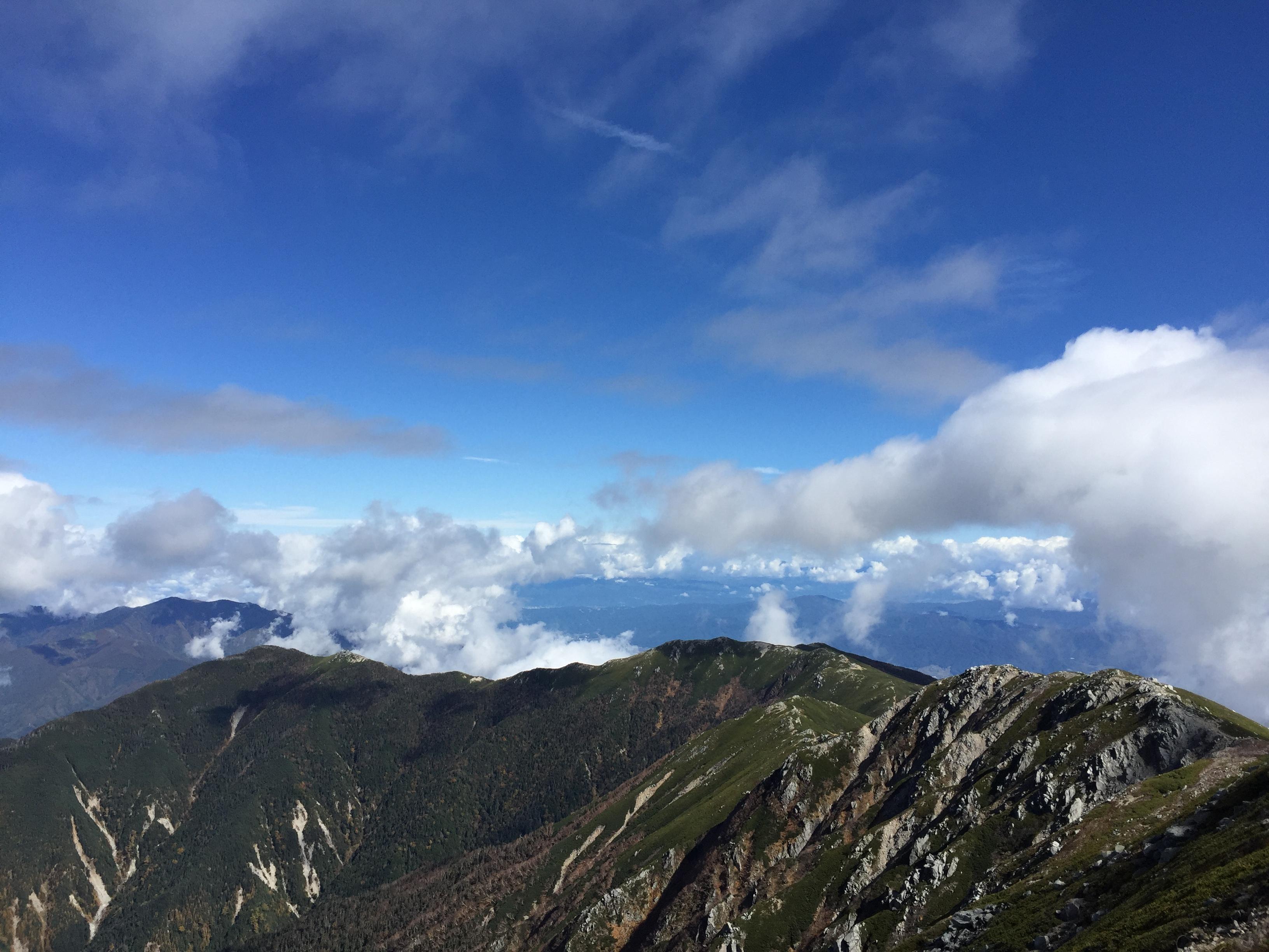 木曽駒ケ岳山頂に登ってきました