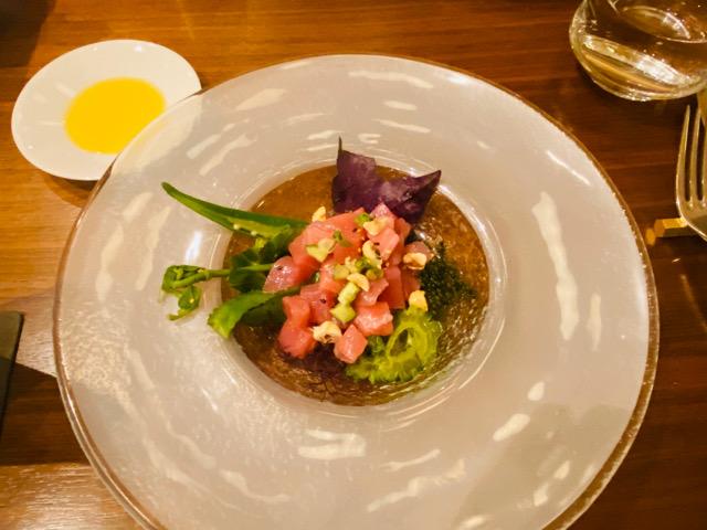 ハレクラニ沖縄 ハウス ウィズアウト ア キー 料理